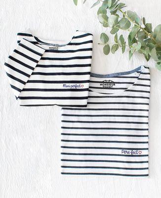 T-Shirt enfant manches longues Mini Perfect (brodé)