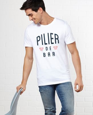 T-Shirt homme Pilier de bar
