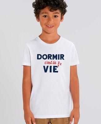 T-Shirt enfant Dormir c'est la vie