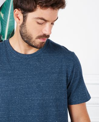T-Shirt homme Message et picto brodés personnalisé