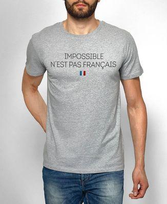 T-Shirt homme Impossible n'est pas français