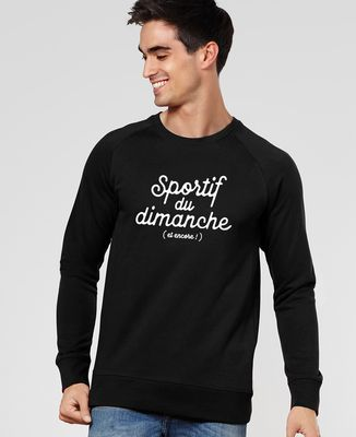 Sweatshirt homme Sportif du dimanche