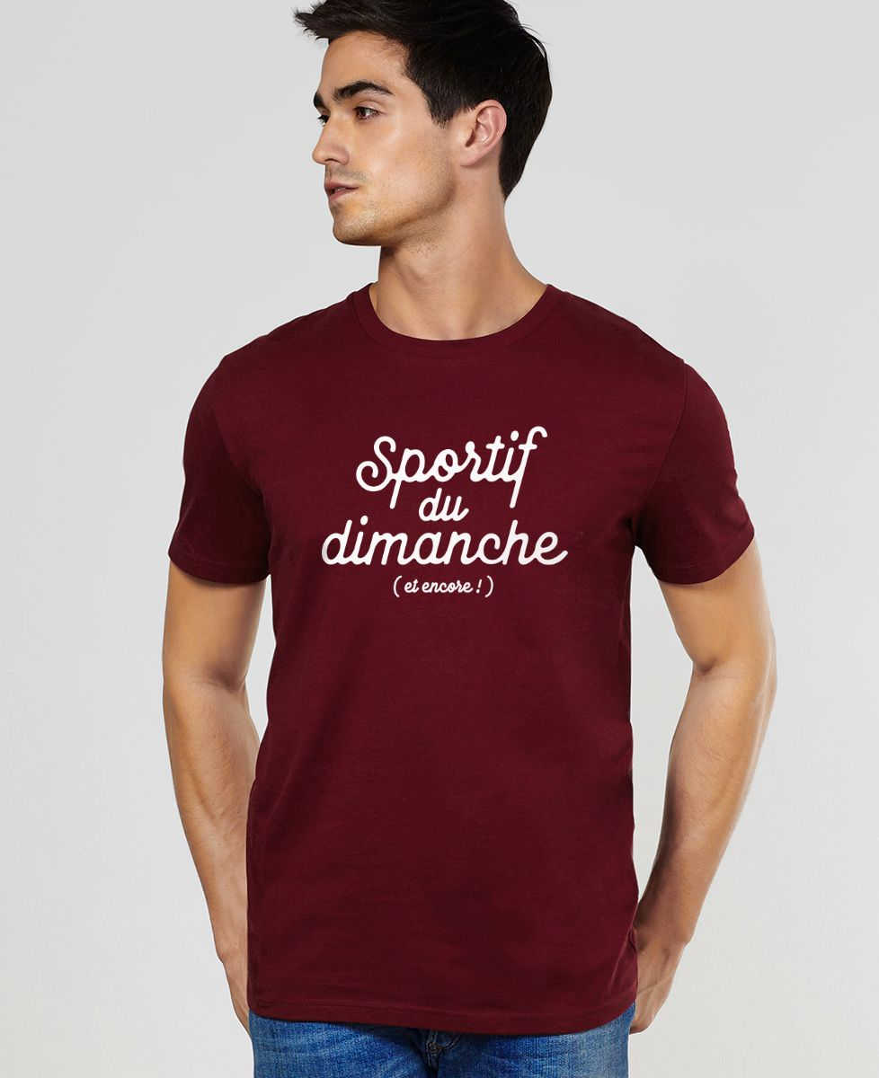 T-Shirt homme Sportif du dimanche