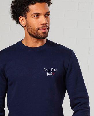 Sweatshirt homme Beau-père fect (brodé)