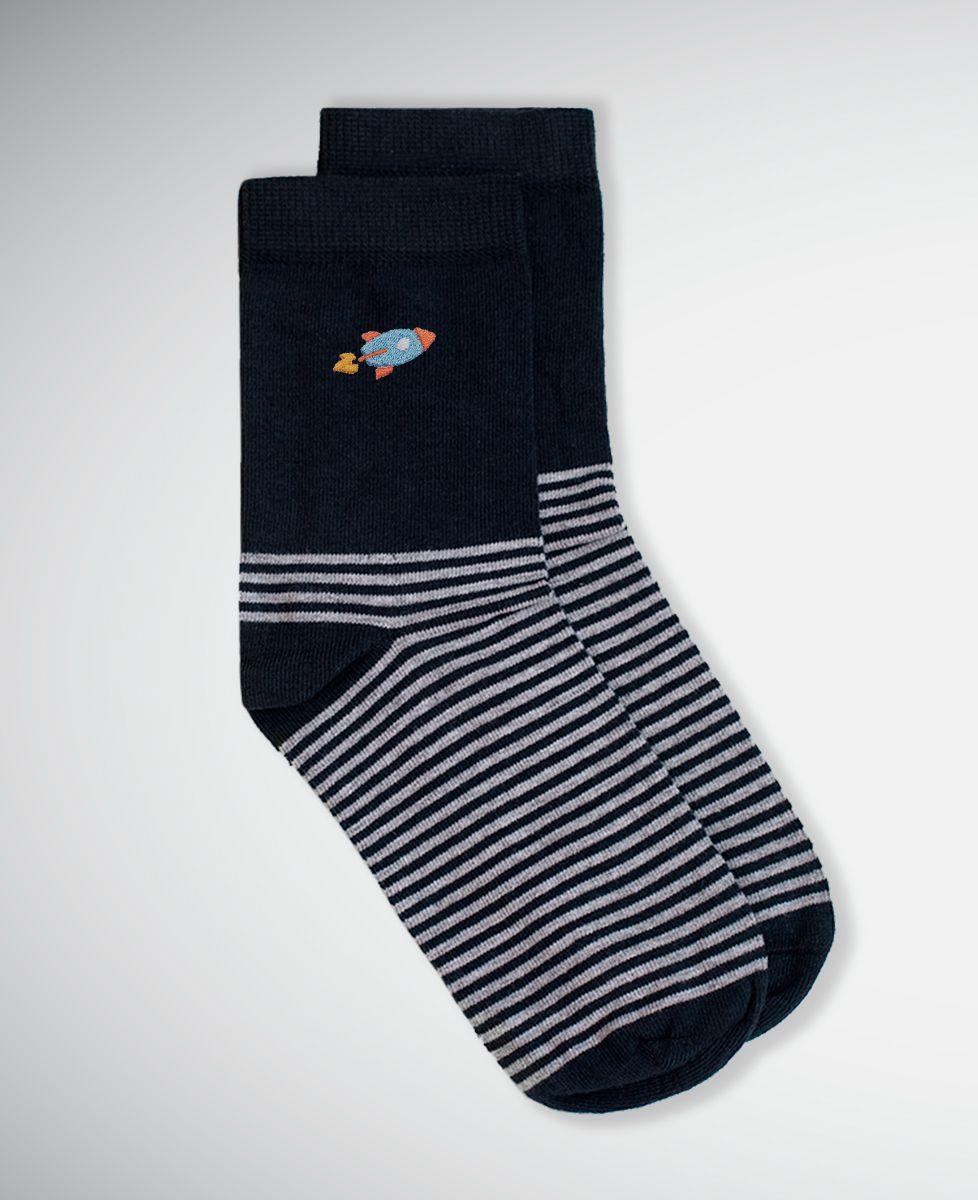 Chaussettes femme Fusée (brodé)