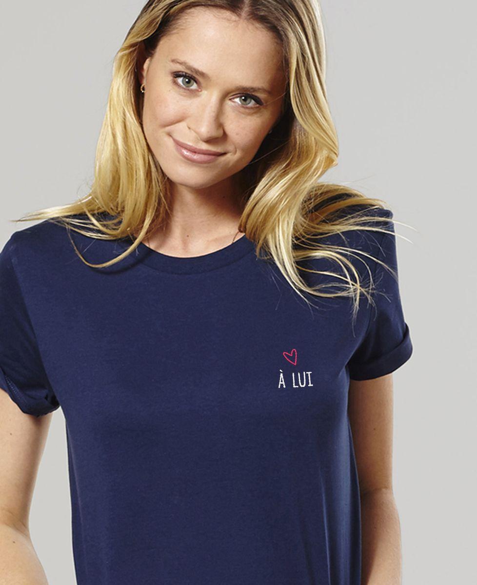 T-Shirt femme À lui (brodé)