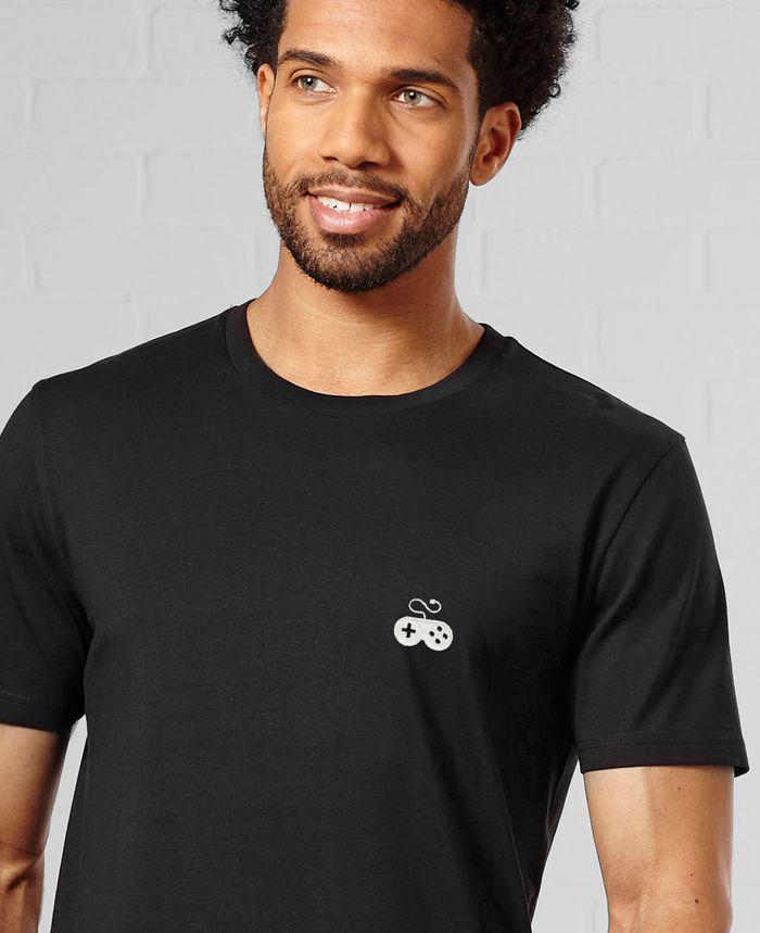 T-Shirt homme Manette gamer (brodé)