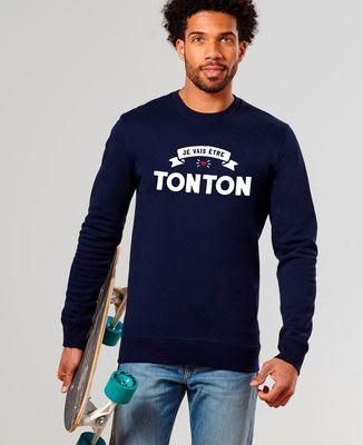 Sweatshirt homme Je vais être tonton II