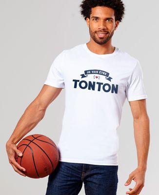 T-Shirt homme Je vais être tonton II