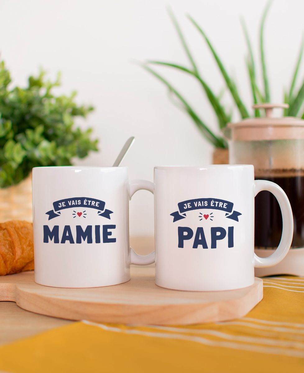 Mug Je vais être mamie