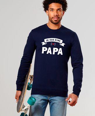 Sweatshirt homme Je vais être papa