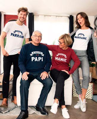 Sweatshirt homme Je vais être papi