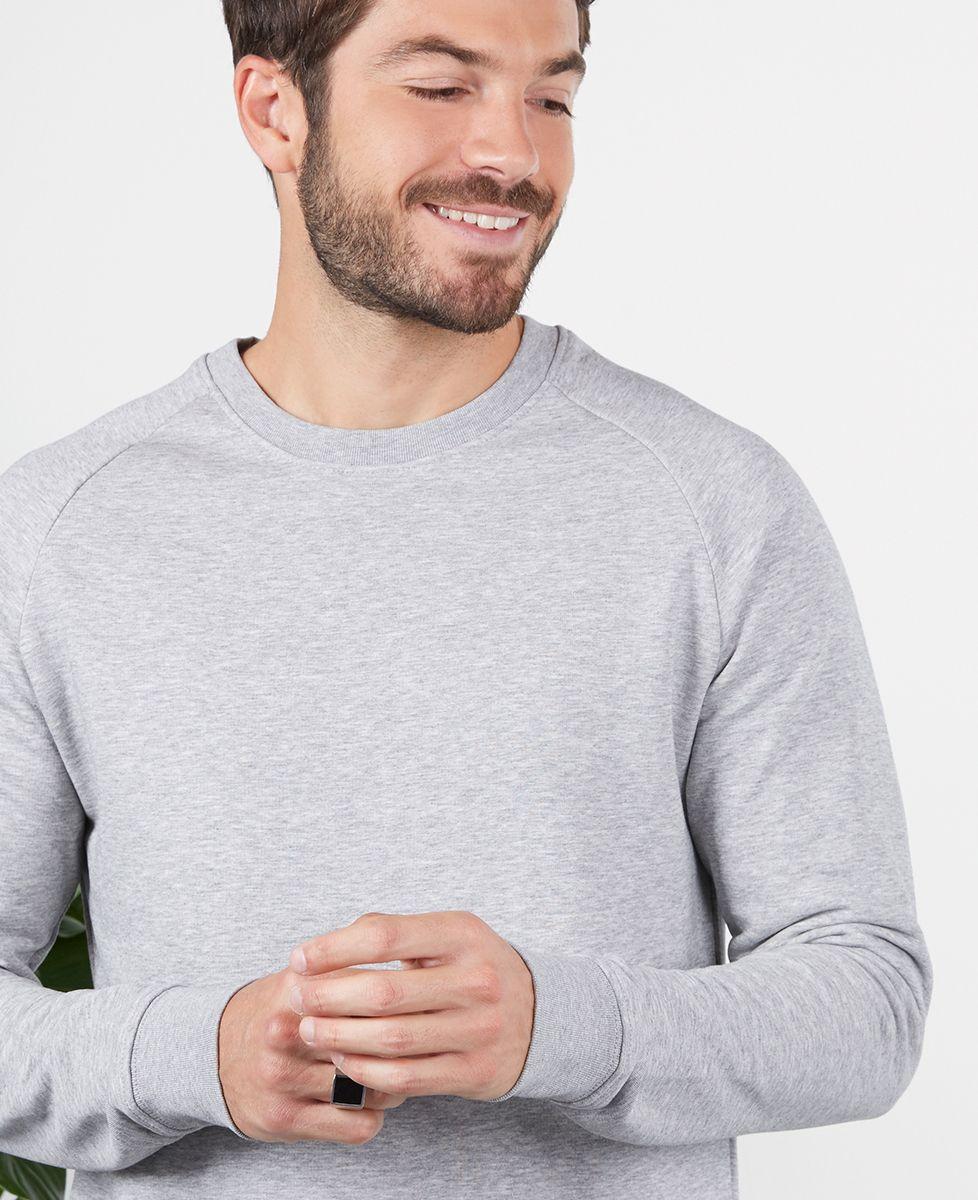 Sweatshirt homme Couple brodé personnalisé