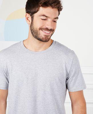 T-Shirt homme Couple brodé personnalisé