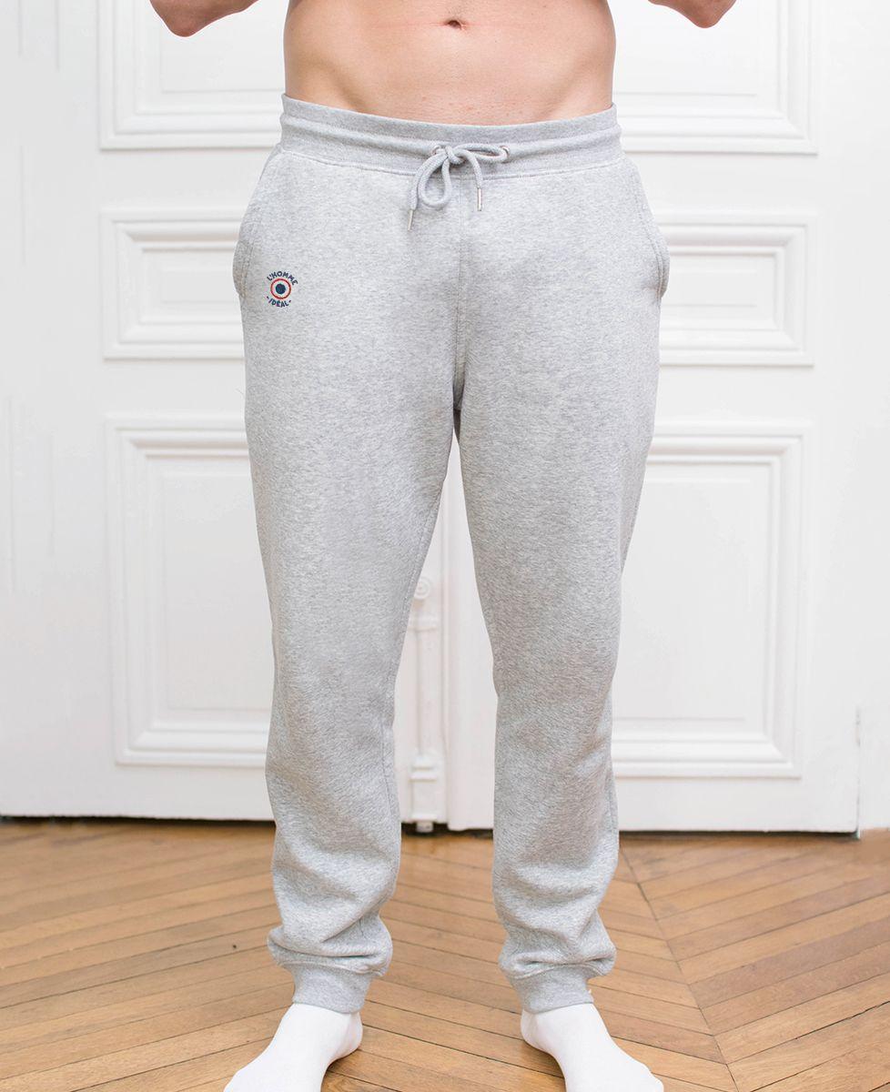 Jogging homme L'homme idéal cocarde (brodé)