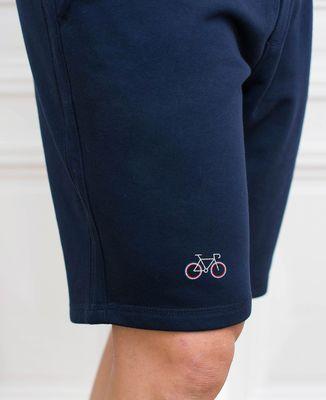 Short homme Vélo tricolore (brodé)