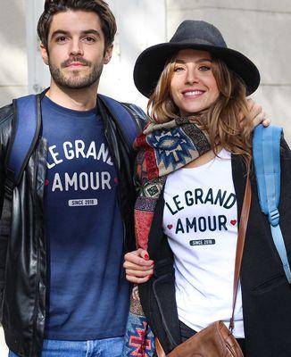 T-Shirt femme Le grand amour personnalisé
