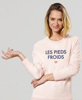 Sweatshirt femme La bouillotte / Les pieds froids
