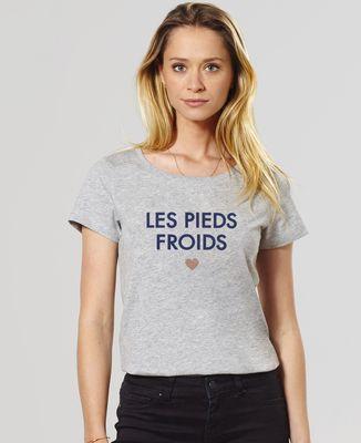 T-Shirt femme La bouillotte / Les pieds froids