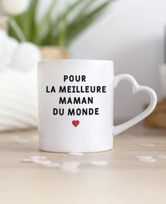Mug Coeur Personnalisé
