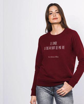 Sweatshirt femme Le lundi