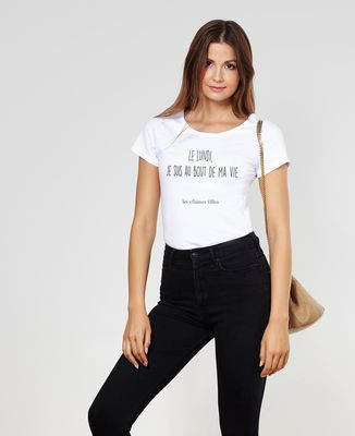 T-Shirt femme Le lundi