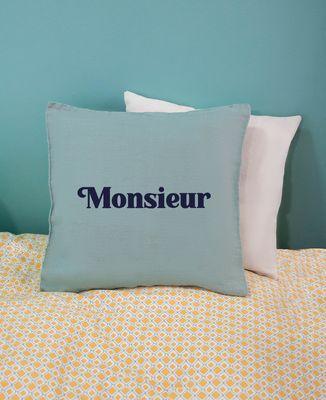 Coussin Monsieur coussin