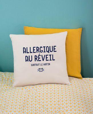 Coussin Allergique au réveil