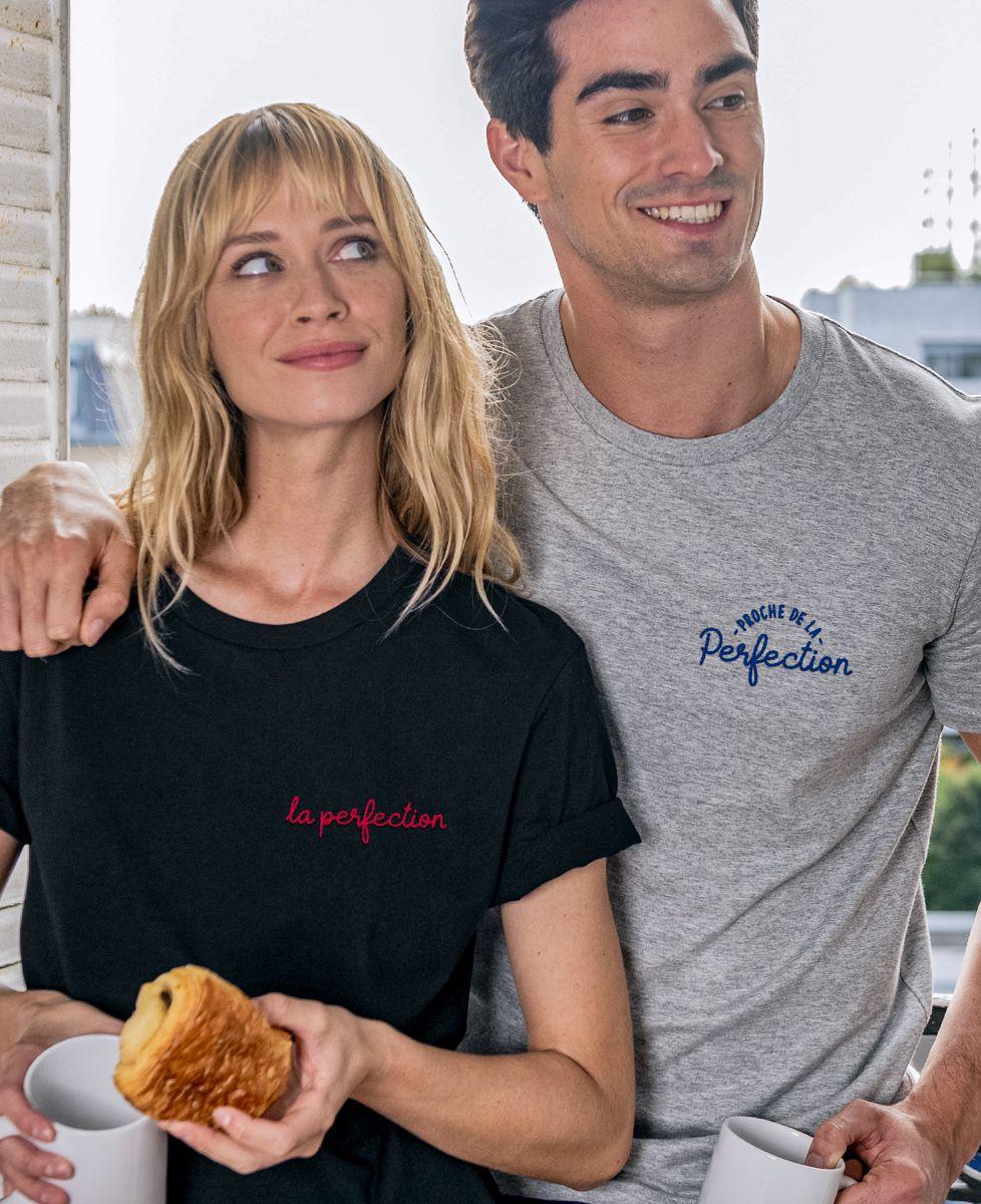 T-Shirt femme La perfection (brodé)
