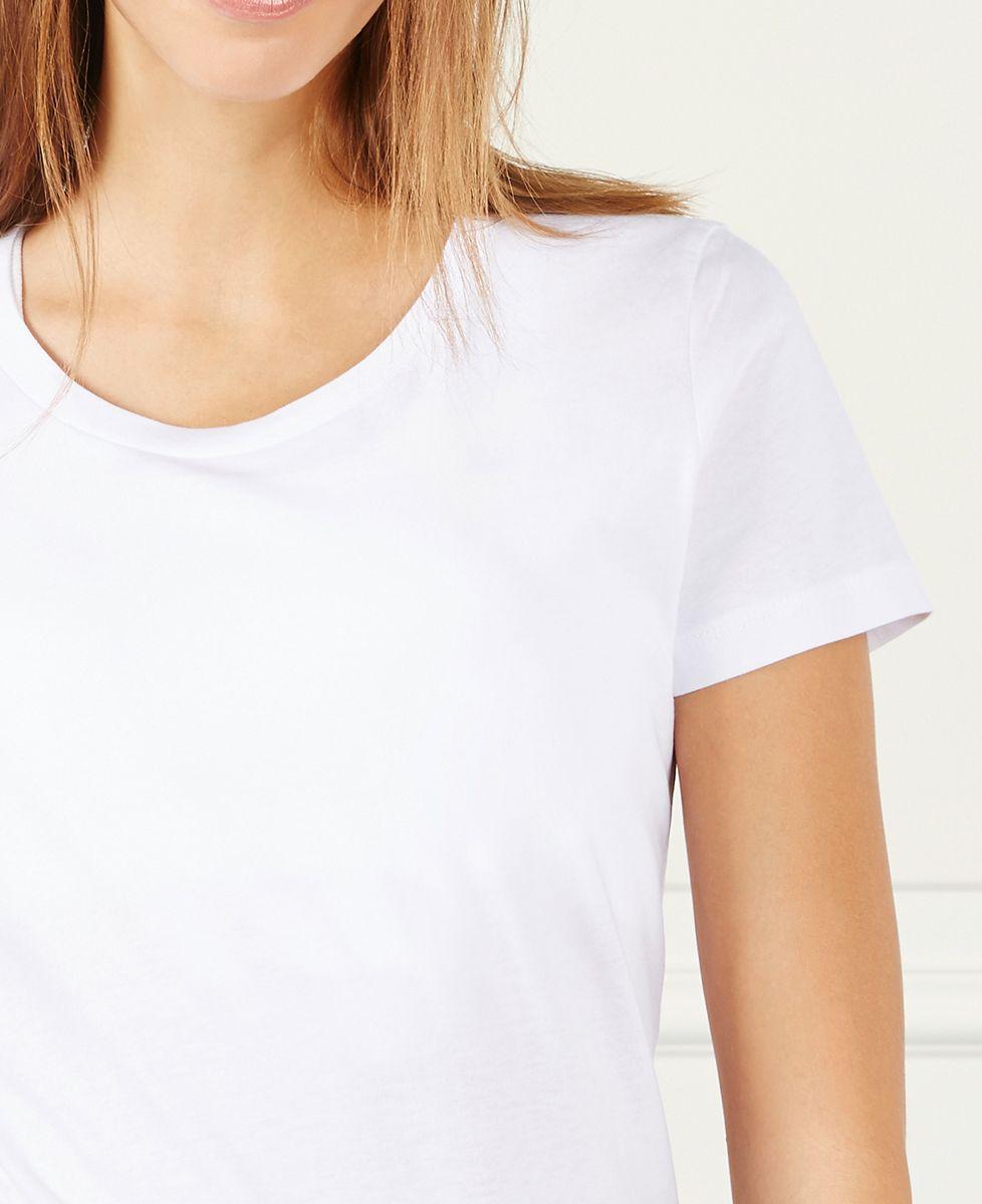T-Shirt femme Date de rencontre brodé personnalisé