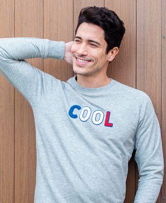 Sweatshirt homme Cool (effet bouclette)