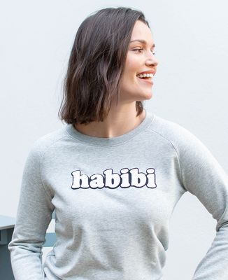 Sweatshirt femme Habibi (effet bouclette)