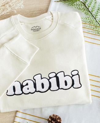 Sweatshirt homme Habibi (effet bouclette)
