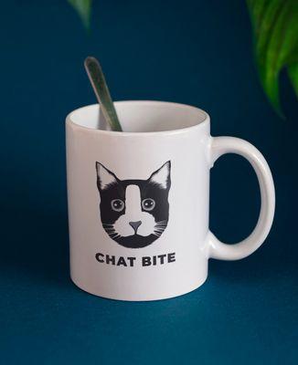 Mug Chat bite