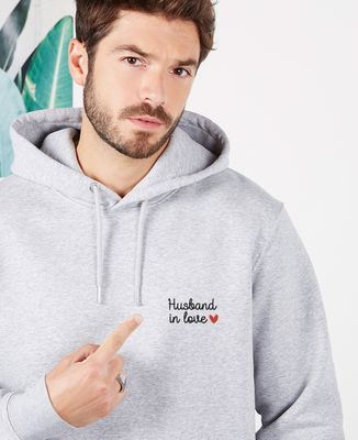 Hoodie homme Husband in love