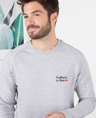 Sweatshirt homme Husband in love