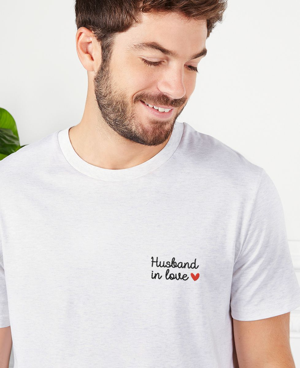 T-Shirt homme Husband in love