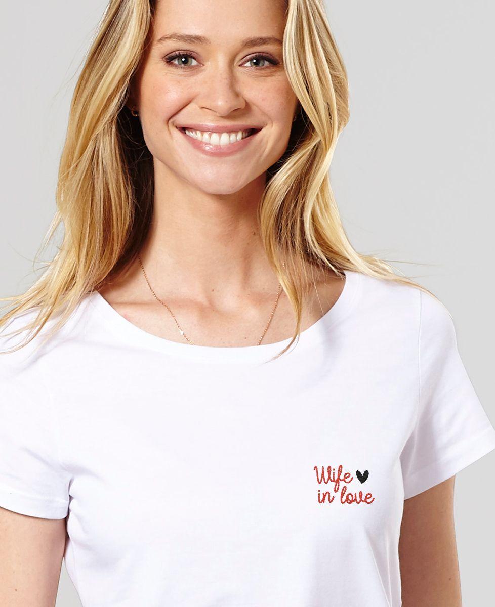 T-Shirt femme Wife in love