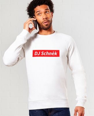 Sweatshirt homme DJ Schnèk