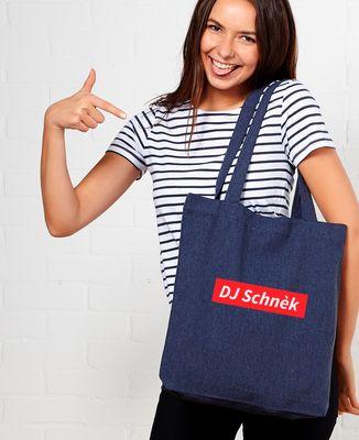 Tote bag DJ Schnèk