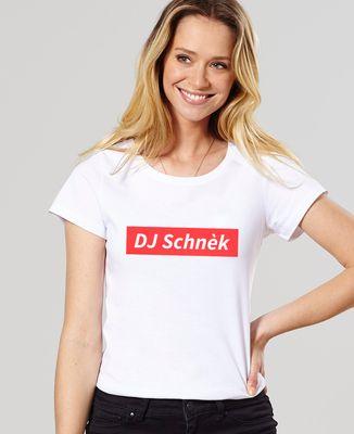 T-Shirt femme DJ Schnèk