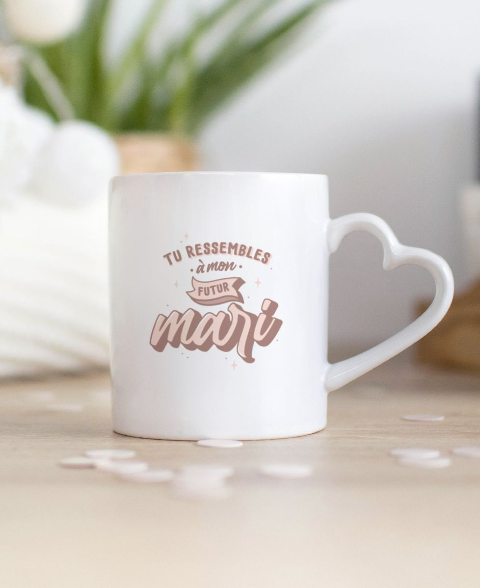 Mug Tu ressembles à mon futur mari