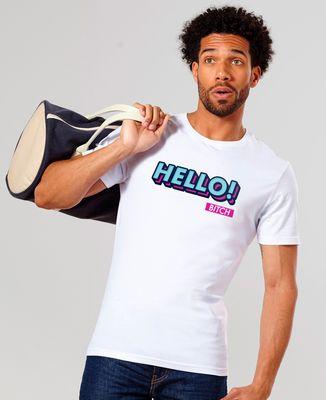 T-Shirt homme Hello bitch