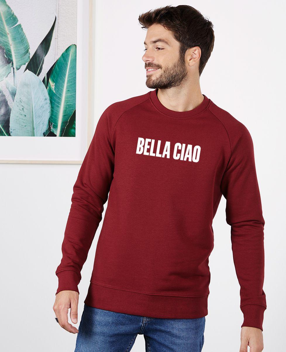 Sweatshirt homme Bella Ciao