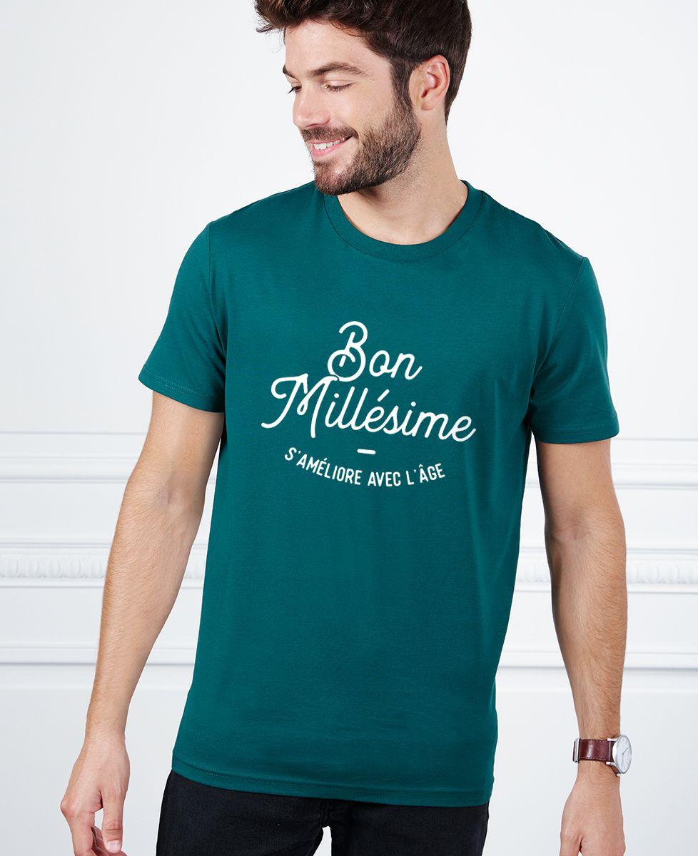 T-Shirt homme Bon millésime