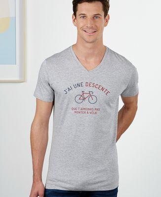 T-Shirt homme Descente à vélo