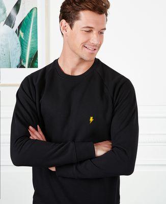 Sweatshirt homme Eclair (Brodé)