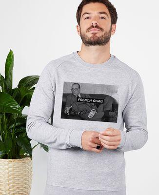 Sweatshirt homme French Swag Chirac