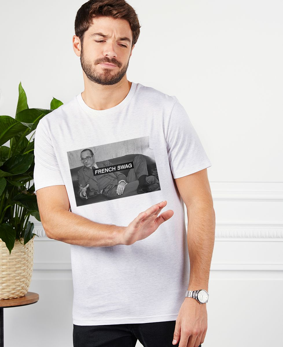 T-Shirt homme French Swag Chirac