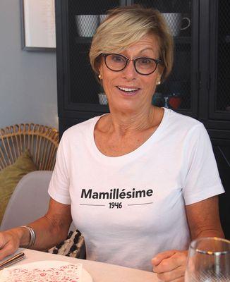 T-Shirt femme Mamillesime personnalisé